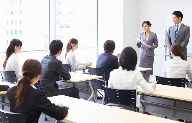 講演会や研修 オフィスレンタル
