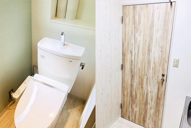 トイレ 内装工事